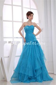 Fantastic A-Line Satin Organza Sweetheart Beading Prom Dress http://en.jupeenligne.com/Fantastic-A-Line-Satin-Organza-Sweetheart-Beading-Prom-Dress-p19405.html