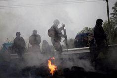 В Донецке начался мощный бой