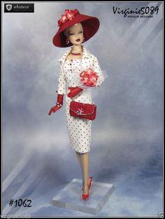 Tenue Outfit Accessoires Pour Fashion Royalty Barbie Silkstone Vintage 1062 | eBay