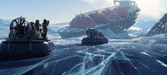 Arctic Expedition 2., Balazs Agoston on ArtStation at https://www.artstation.com/artwork/88mnx