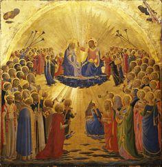 Beato (Fra) Angelico, Incoronazione della Vergine, Firenze, Galleria degli Uffizi