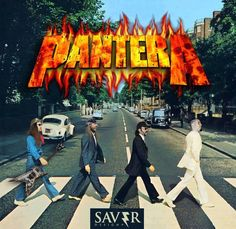 The Beatles meet Pantera......and the beatles realize, they aint shit compared these mfkrs!!!!
