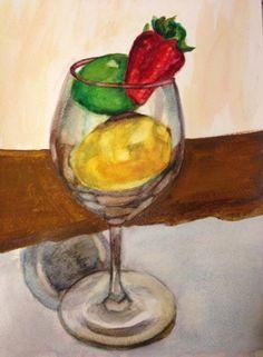 Watercolor Still Life  2012