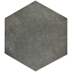 Merola Tile Hexatile Matte Nero 7 in. x 8 in. Porcelain Floor and Wall Tile sq. / - The Home Depot Hexagon Tiles, Mosaic Tiles, Wall Tiles, Backsplash Tile, Hex Tile, Cement Tiles, Mosaics, Ceramic Subway Tile, Wood Look Tile