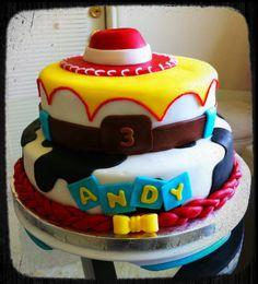 Fondant cake: jessy