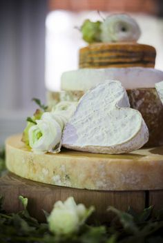 Ok changed our minds about the cake! how about a Beautiful cheese wedding cake??