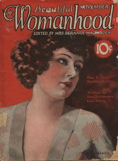 vintage beautiful womanhood magazine