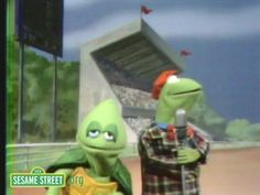 Sesame Street: Kermit Reports News On The Tortoise & Hare