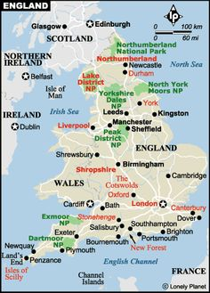 England - Travel Info and Travel Guide ~ Tourist Destinations