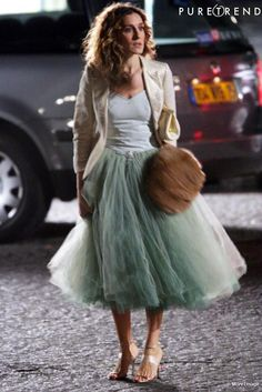 Not a fan of Carrie, but is there anything prettier than layers and layers of tulle?