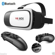 VR-BOX-Virtual-Reality-3D-Glasses-Games-Bluetooth-Remote-Control-For-Smartphone