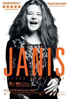 ジャニス・ジョプリンのドキュメンタリー『Janis: Little Girl Blue』 本編映像の一部が公開 - amass