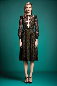 Gucci pre fall 2013 (something would definitely be underneath)