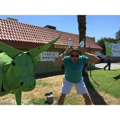 """John Barrowman MBE's image - """"Our new fave Sandwich shop in Palm Springs.  @zoboandmeesters whatever u try get the Pretzel Bread. @PalmSpringCARR jb"""" on WhoSay"""