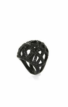 For Her: Pave Cage Ring | BCBG