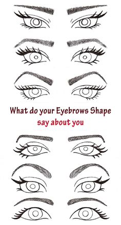 What do your Eyebrows Shape say about You