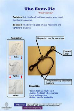 One handed hair tie for spinal cord injury - Re-pinned by @PediaStaff – Please Visit http://ht.ly/63sNt for all our pediatric therapy pins
