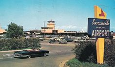 Sacramento Airport in the early 60's!