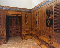 Studiolo from the Ducal Palace in Gubbio Designed by Francesco di Giorgio Martini (Italian, Siena 1439–1501 Siena)