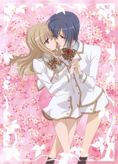 Hikari and Amane from Strawberry Panic