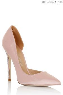 Little Mistress Embellished Detail Heels