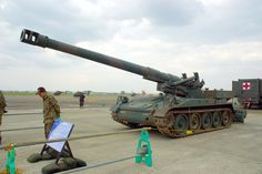 self propelled artillery | File:203mm Self-Propelled Howitzer M110A2.JPG - Wikipedia, the free ...