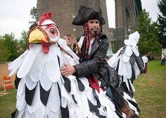 Zambini chicken rider copyright Byron Dazey