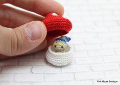 Kawaii Crochet, Cute Crochet, Crochet Crafts, Yarn Crafts, Crochet Projects, Knit Crochet, Crotchet Patterns, Crochet Patterns Amigurumi, Crochet Dolls