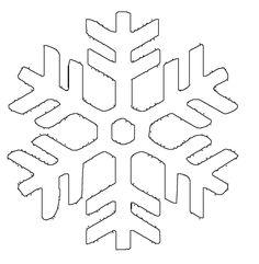Ausmalbild Schneeflocken und Sterne: Kostenlose Malvorlage: Schneeflocke 4 kostenlos ausdrucken