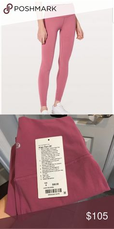 82f5fb2aadecc1 Lululemon Reveal 7/8 Tight New with tags. Size 4 color blue tied. Retail  price is $118 plus tax. lululemon athletica Pants Leggings | My Posh Picks .
