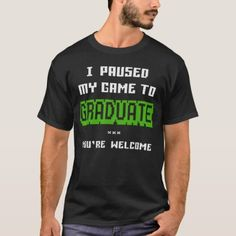 Funny College or High School 2019 Gamer Graduation T-Shirt Funny College, College Humor, Graduation Shirts, Funny Tshirts, Keep It Cleaner, Laughter, High School, Shirt Designs, Mens Tops