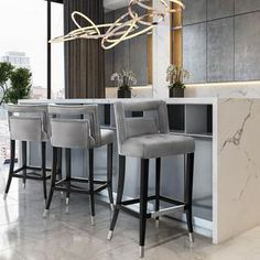 Counter Stools With Backs, Grey Bar Stools, High Bar Stools, Leather Counter Stools, Bar Stool Chairs, Counter Height Bar Stools, Modern Bar Stools, Swivel Bar Stools, Cool Bar Stools