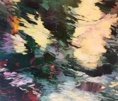 Flower Power 2017. Acrylic on canvas. 120 x 140 cm. Bjørnar Aaslund. 2017.
