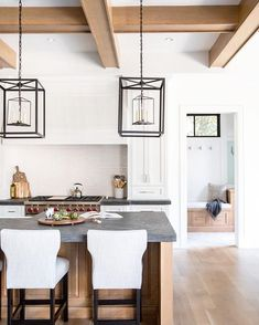 Design Trend 2019 Black Kitchen CountertopsBECKI OWENS is part of Black kitchen countertops - Welcome to our Trends 2019 Series! If you are craving something different for your kitchen, black countertops are on the rise, and they are bold and beautiful Black Kitchens, Kitchen Remodel, Kitchen Decor, Interior Design Kitchen, New Kitchen, Home Kitchens, Black Kitchen Countertops, Kitchen Renovation, Kitchen Design