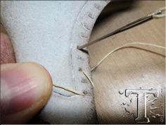 Tim Holtz...ice skates...how to lace up