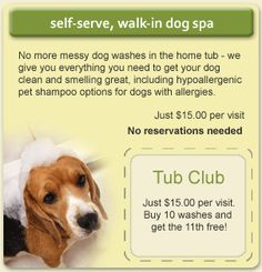 96 best dog grooming business marketing images on pinterest natural instincts tub club solutioingenieria Image collections