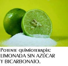 José Manuel Mena Mendez ha compartido la foto de La Bioguia. La Bioguia TOMAR LIMONADA TODOS LOS DÍAS CON UNA CUCHARITA DE BICARBONATO MATA A LAS CÉLULAS CANCEROSAS.Es 10.000 veces más potente que la quimioterapia. Su sabor es agradable y por supuesto no produce los horribles efectos de la quimioterapia y lo que es todavía más asombroso es que este tipo de terapia, con el extracto de limón y el bicarbonato, destruye tan sólo las células malignas del cáncer