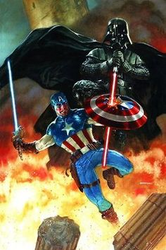 Darth Vader vs. Captain America