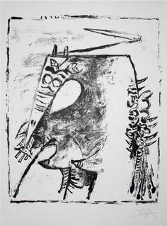 Figure Blanche - Wifredo Lam Art Experience:NYC www.artexperience...
