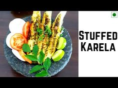 Stuffed Karela | भरवां करेला मसाला | Bharwan Karela - YouTube Bitter Melon, Mustard Oil, Garlic Paste, Cooking Oil, Asparagus, Cooking Recipes, Vegetables, Youtube, Food