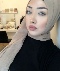 . . #moda #hijab #jualhijab #hidjabootd #instamoda #hijablove #hijabilookbook #hijabfashion #fashionmodesty #modestclothing #hijabstyle #hijabmuslim #fashion #muslimah #hijaboftheday #hijabdaily #hijabmodesty #hidjabstore #modesty #hijabers #thehijabstyle #prilaga #hijabspiration #hijabistyle #hijabswag #hidjabindonesia #fashionhijabis #hijabcandy #hotd #hijablife Beautiful Eyes, Gorgeous Women, Hijab Niqab, Turban, Style Inspiration, Friends, My Style, Womens Fashion, Queens