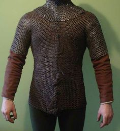 Tailored maille, 15th century front opening design. Modern recreation