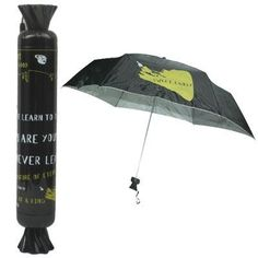 EJ The Piebald Pattern Umbrella/Sunshade Umbrella with Candy Modeling Package(Bl