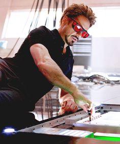 'Tony Stark' at work.