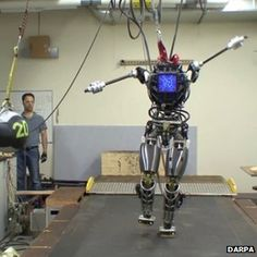 US unveils 'Atlas' humanoid robot test bed Atlas robot So far, Atlas has only been put through its paces in a lab Continue reading the main story Related Stories  Contact lens gives telescopic vision Robot soldier tests military clothes Watch US plans small-ship drone launches A humanoid robot called Atlas could pave the way for intelligent machines to help in the wake of natural disasters. http://www.bbc.co.uk/news/technology-23286266