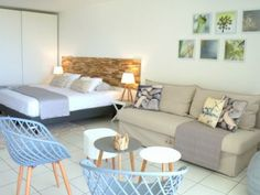 Scandihome on the beach Studio with awesome ocean view on Orient Bay beach (Réf:5872 Appartement SaintMartin MontVernon)