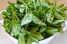 Kalyn's Kitchen®: Another Option for Freezing Fresh Basil: French Pistou Sauce in Honor of Julia Child