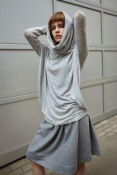 Kaszmirowa spódnica