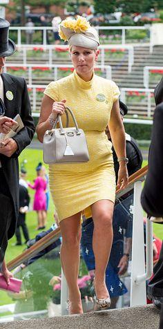 Zara Phillips on June 16, 2015 in Ascot, England.