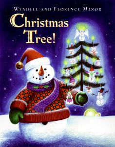 The Minors offer a delightful treat–a simple rhyming text combined with colorful, whimsical art that can be seen quite nicely all the way to the back row of a storytime. A brief history of the Christmas tree is included. This charming read-aloud will give children the chance to use their imaginations, and maybe come up with a few ideas of their own.